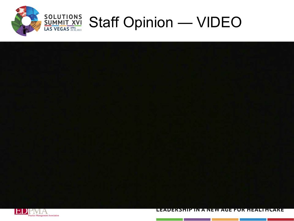 Staff Opinion — VIDEO