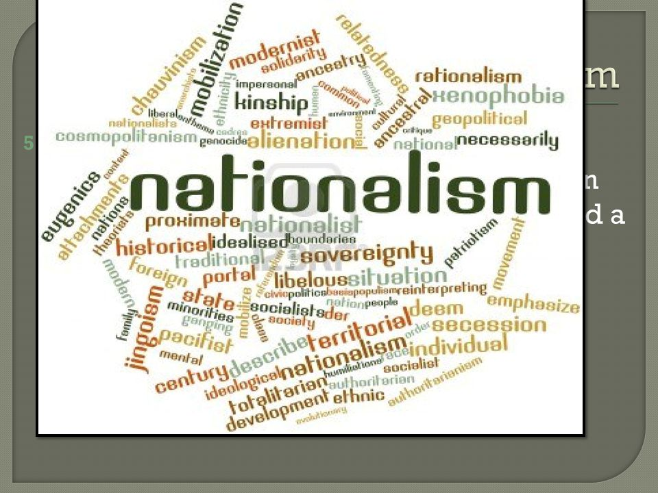 5.Nationalism Surfaces in India a.