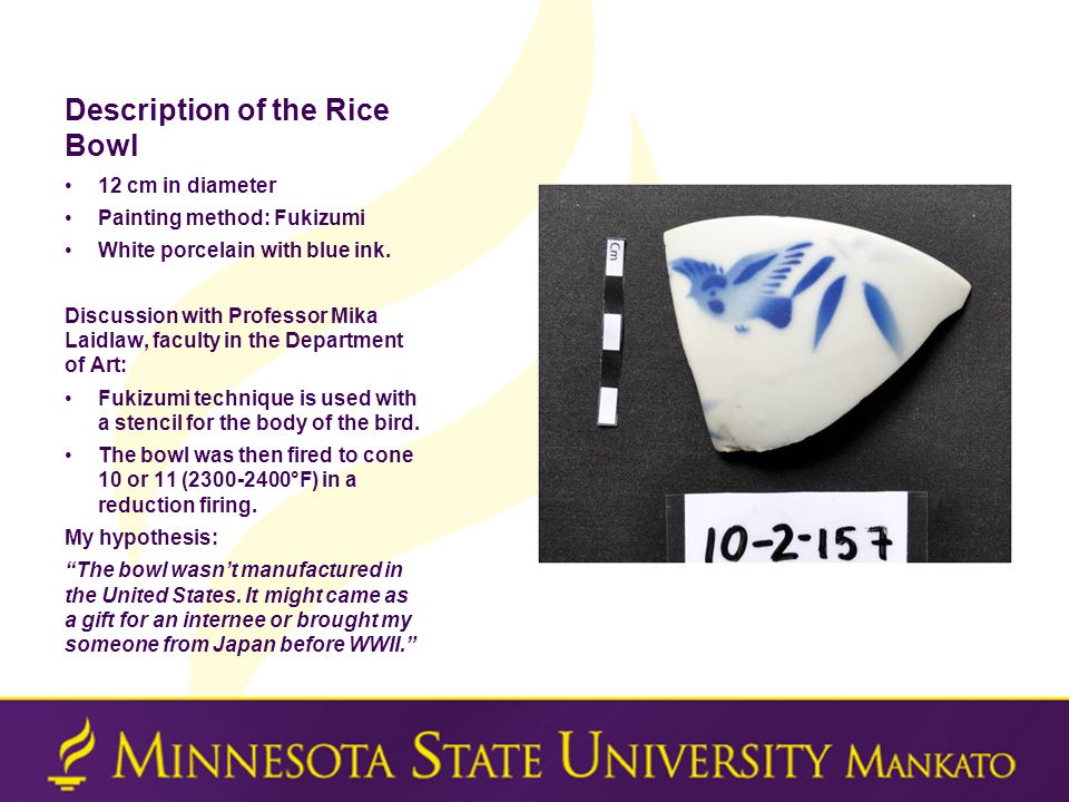 Description of the Rice Bowl 12 cm in diameter Painting method: Fukizumi White porcelain with blue ink.