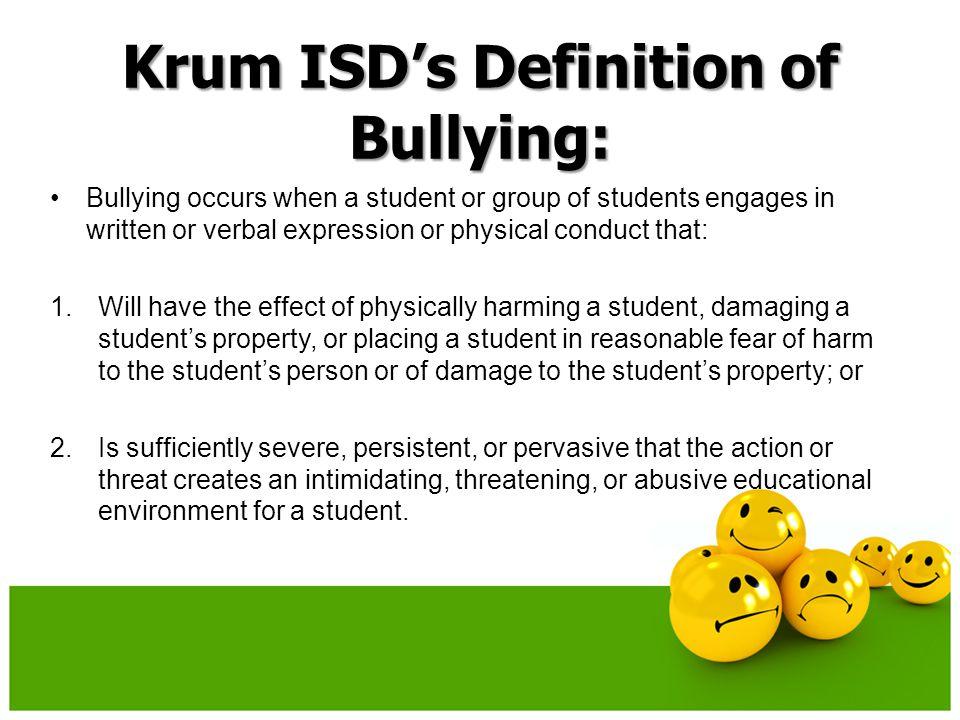 No Bullying at KMS! http://www.youtube.com/watch?v=kU8psvxaAOc