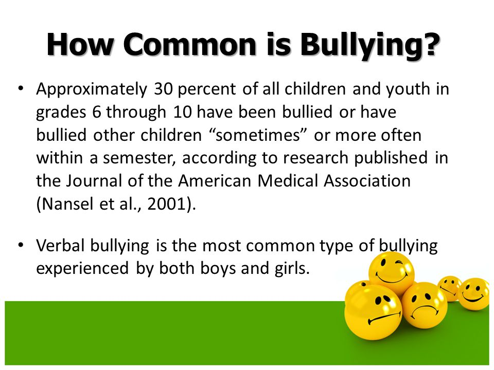 How Common is Bullying.