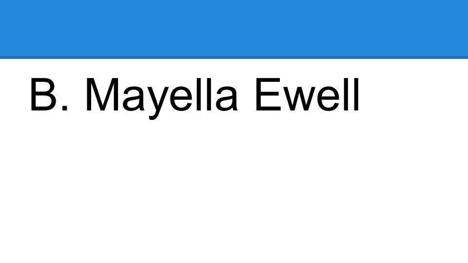 B. Mayella Ewell