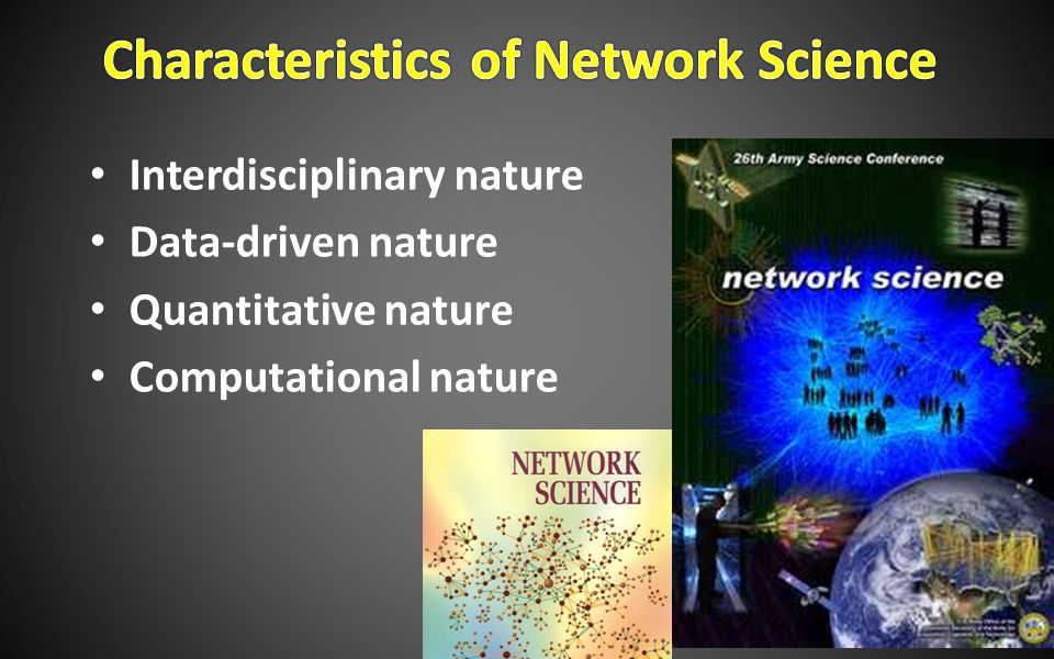 Interdisciplinary nature Data-driven nature Quantitative nature Computational nature