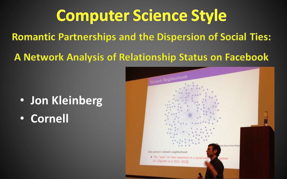 Jon Kleinberg Cornell