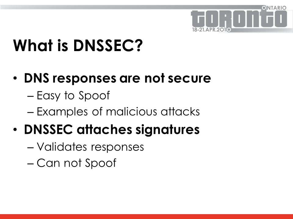 What is DNSSEC.