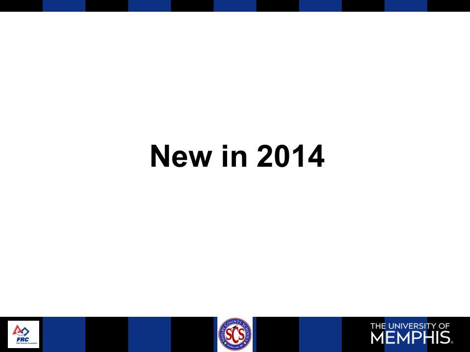 New in 2014