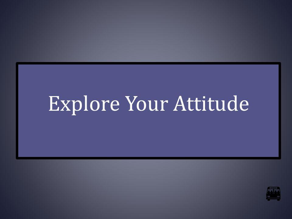 Explore Your Attitude