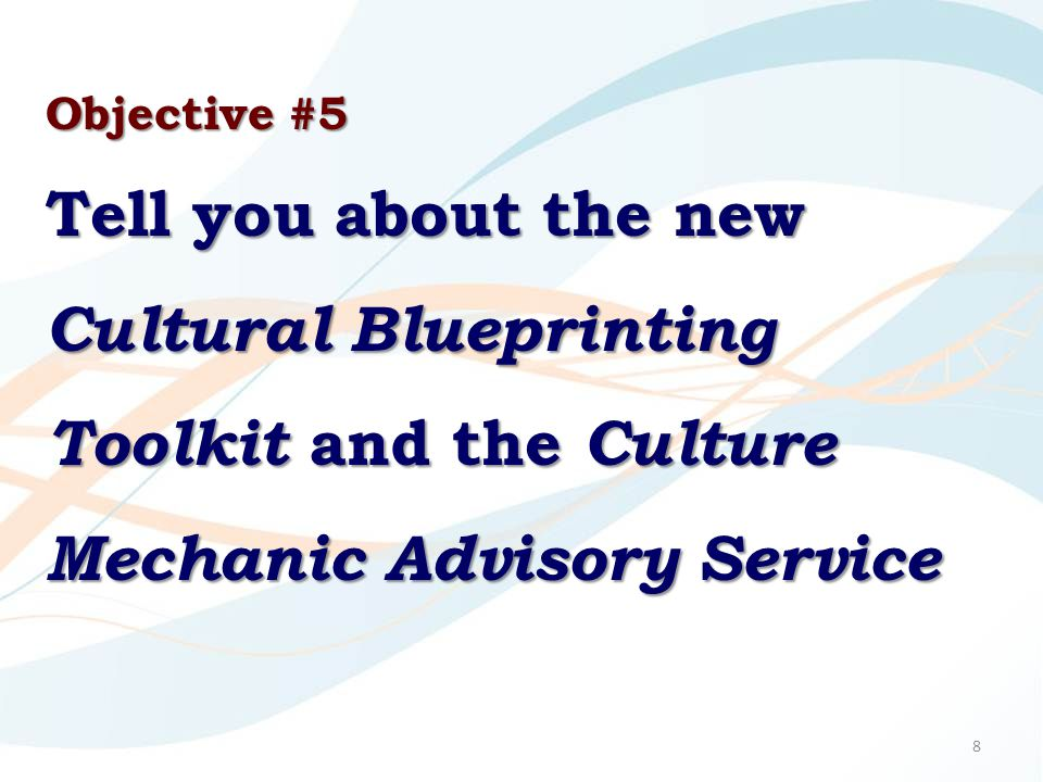 Key Success Factor #9 Move from a culture of optionality to a culture of ownership.