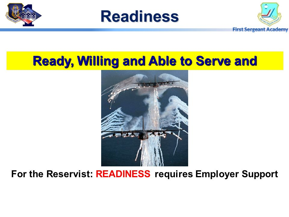 Overview  Readiness  What is ESGR  ESGR's Role  Programs and Services  USERRA  Points of Contact