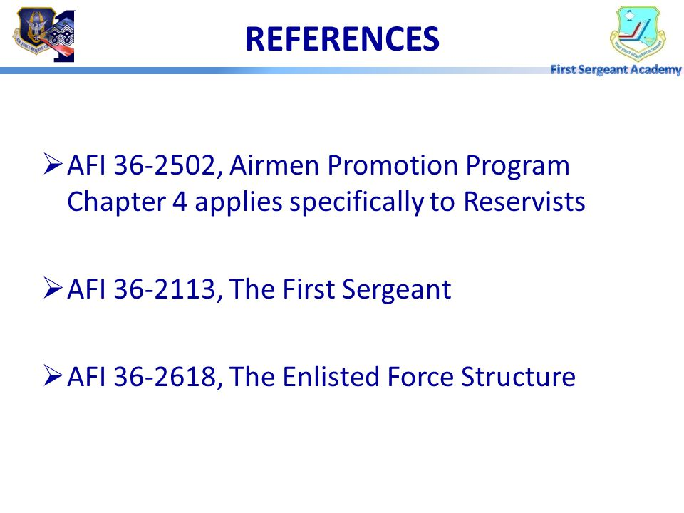 OVERVIEW  Promotion Authority  Ineligible for Promotion  Minimum Eligibility Requirements  Types of Promotions  Promotion Process  First Sergean