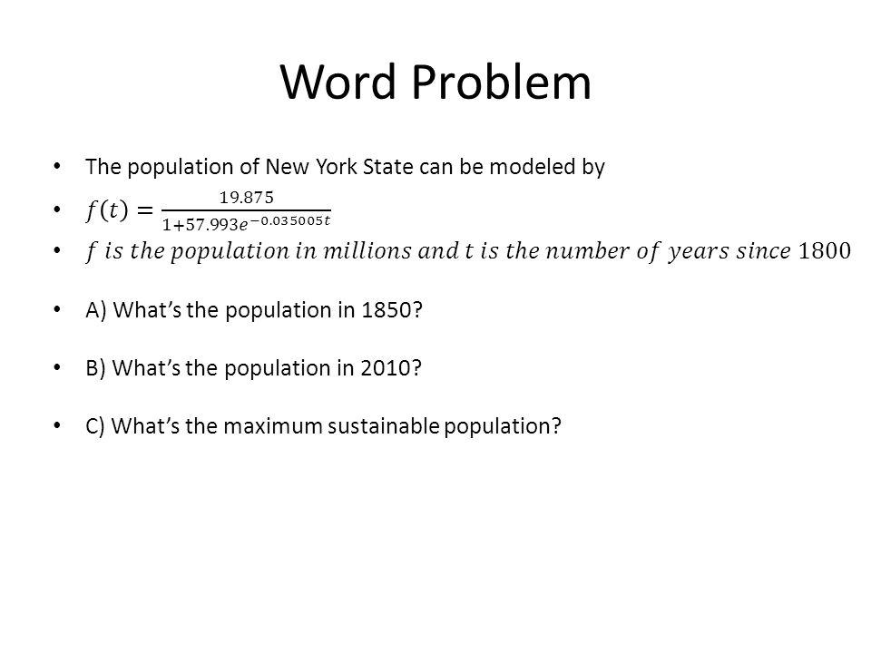 Word Problem