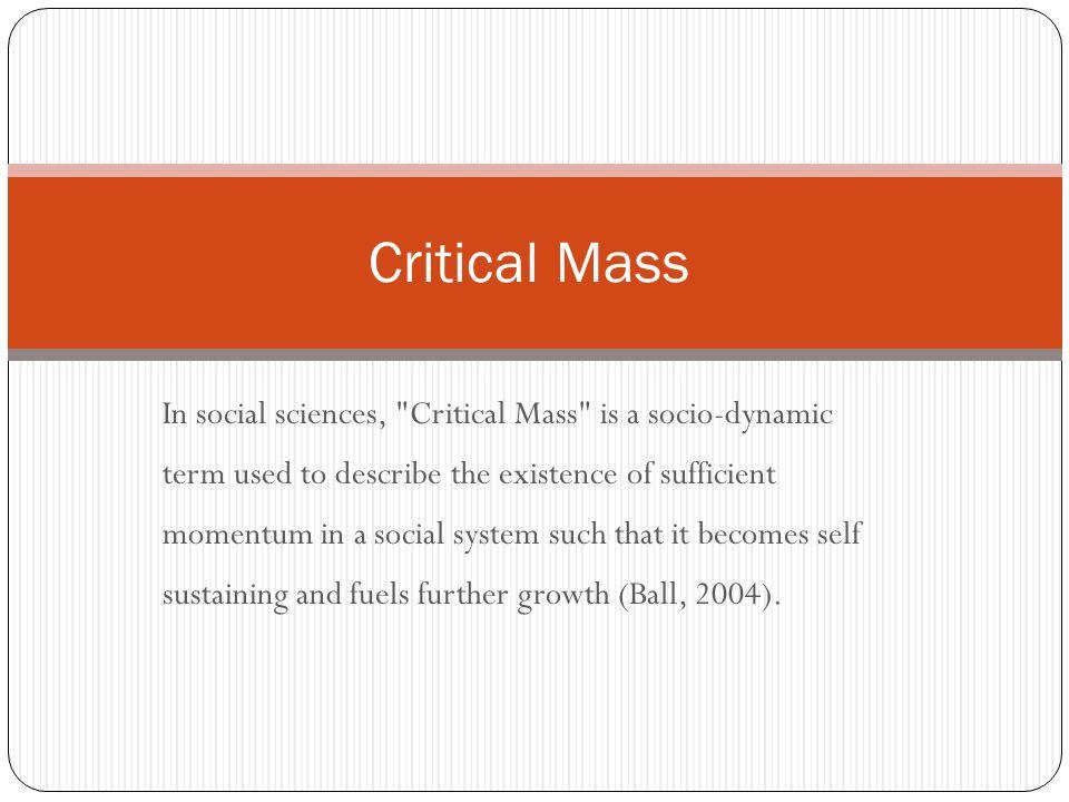 In social sciences,