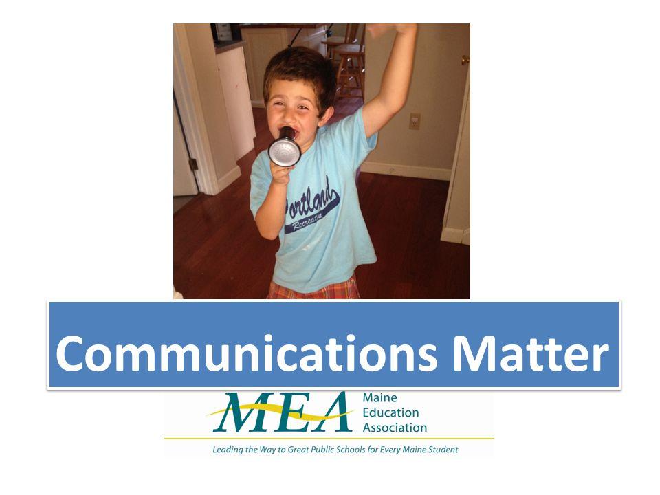 Communications Matter