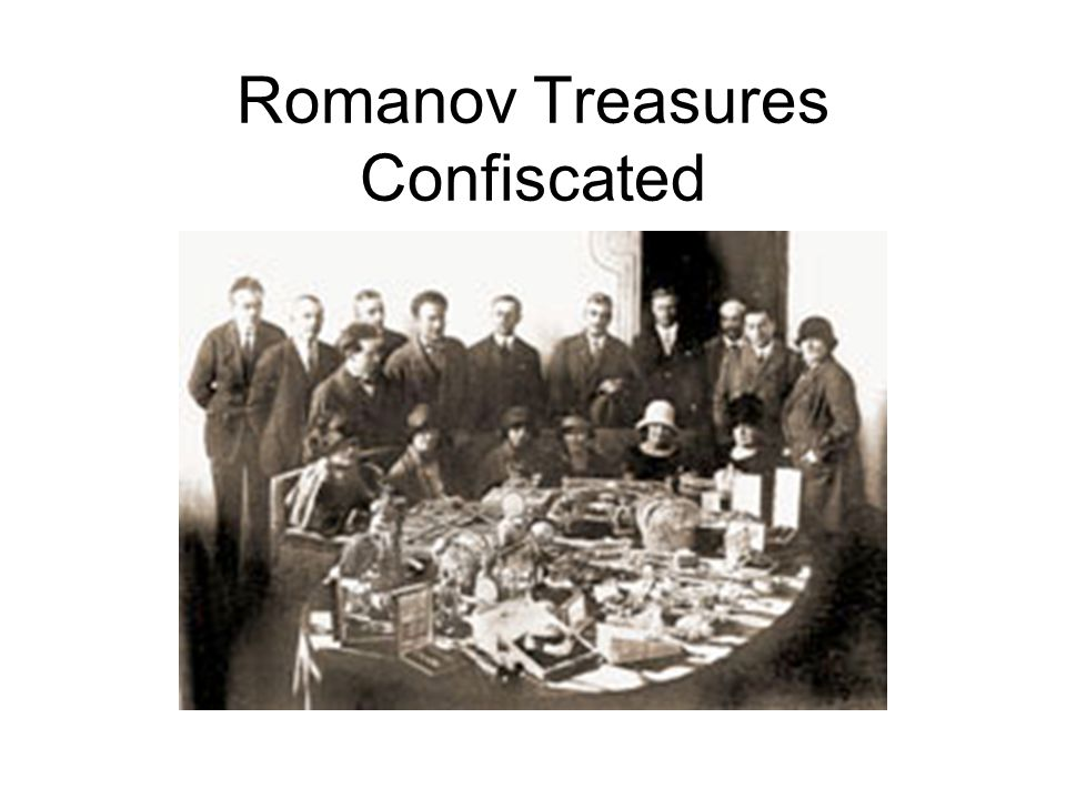 Romanov Treasures Confiscated