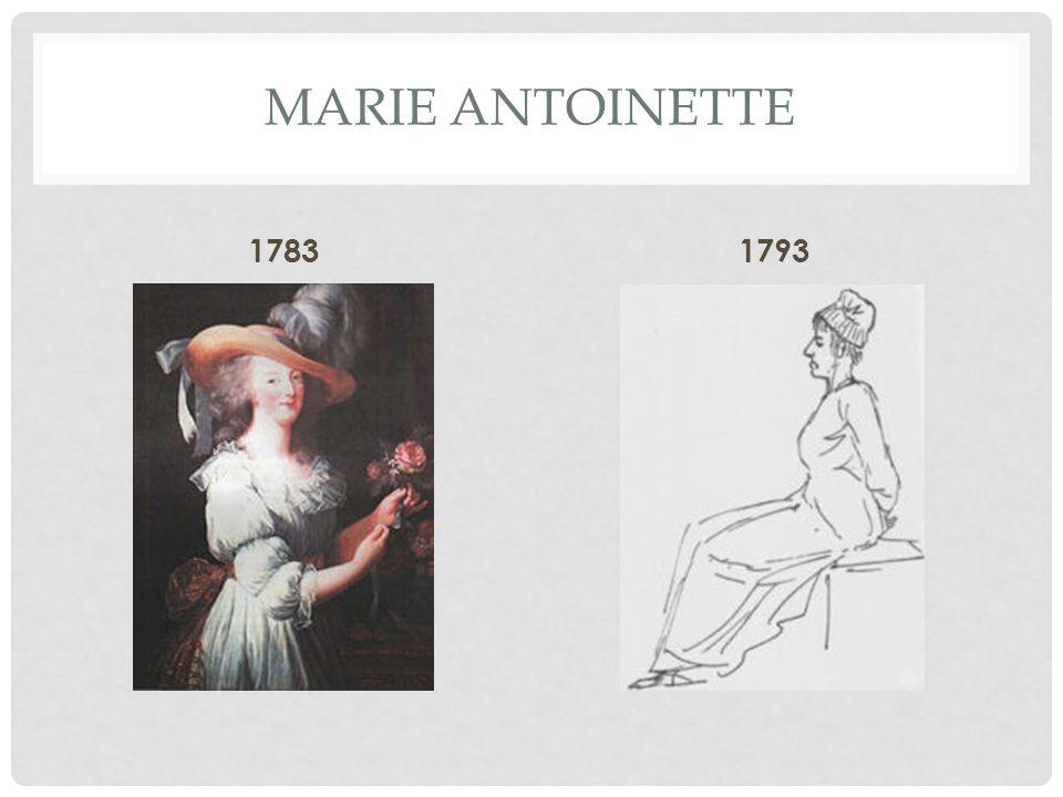 MARIE ANTOINETTE 17831793