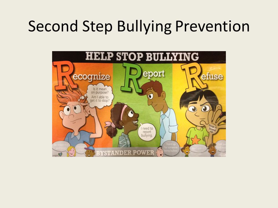Second Step Bullying Prevention