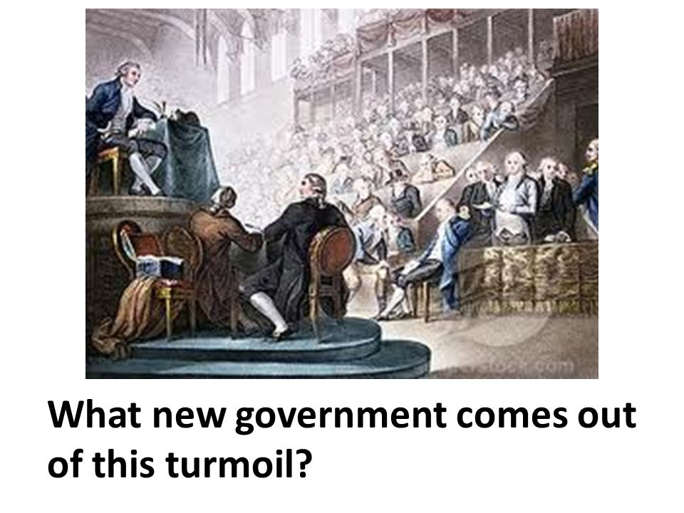 What new government comes out of this turmoil