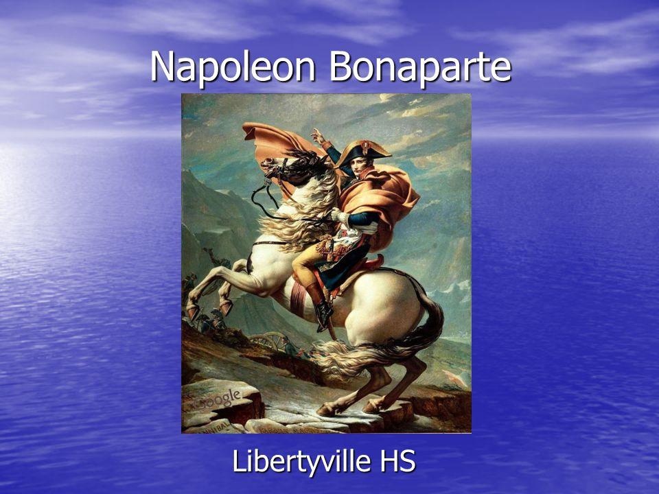 Napoleon Bonaparte Libertyville HS