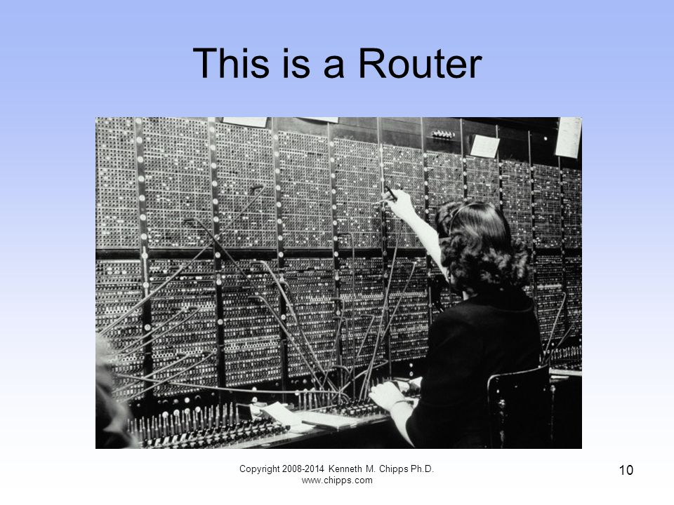 10 This is a Router