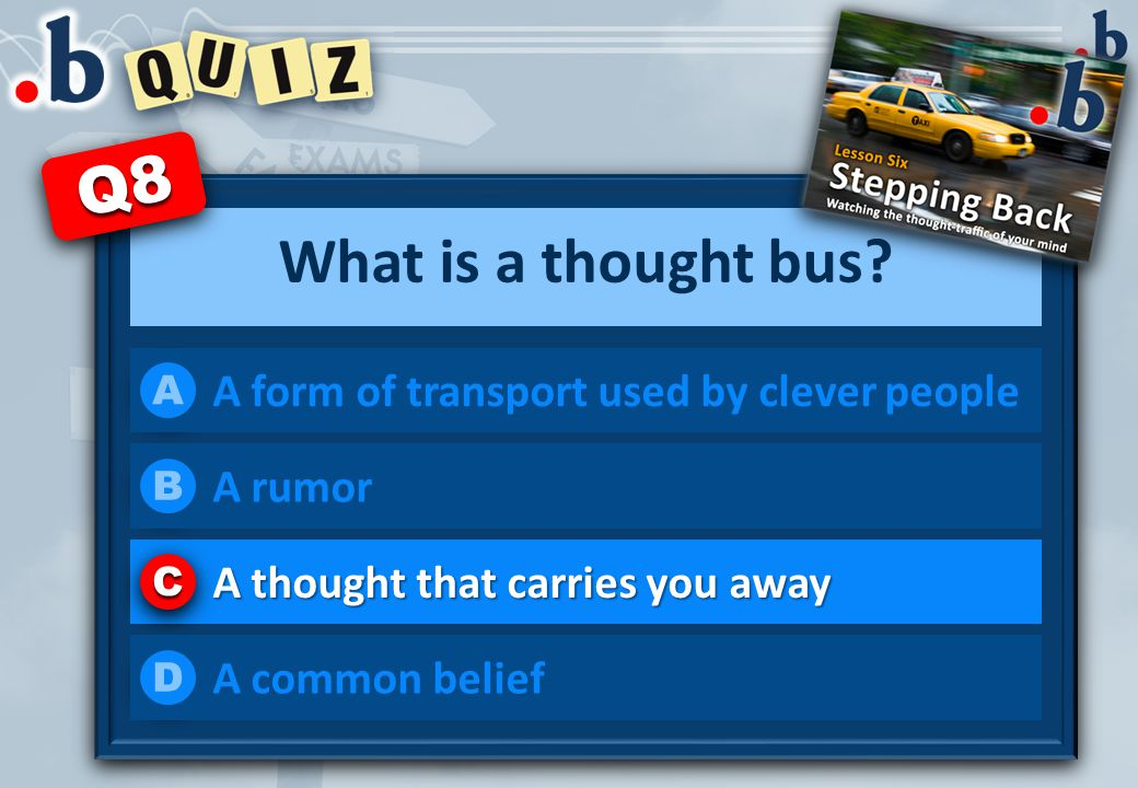 What is a thought bus.