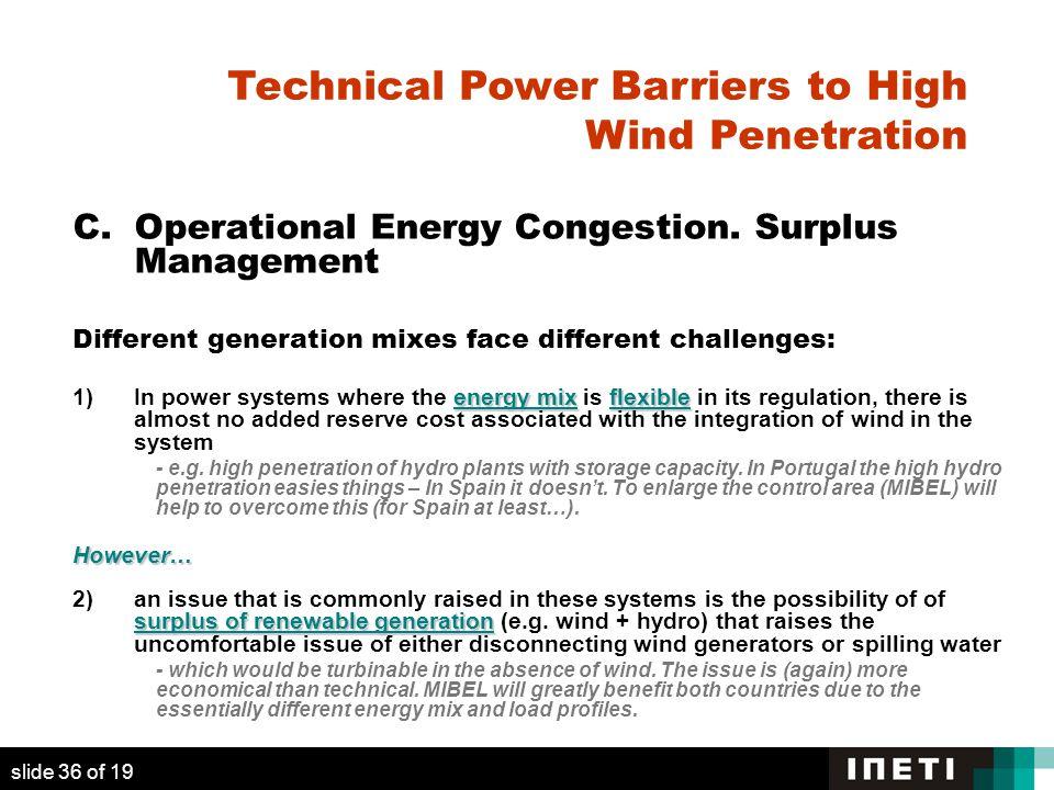 C. Operational Energy Congestion.