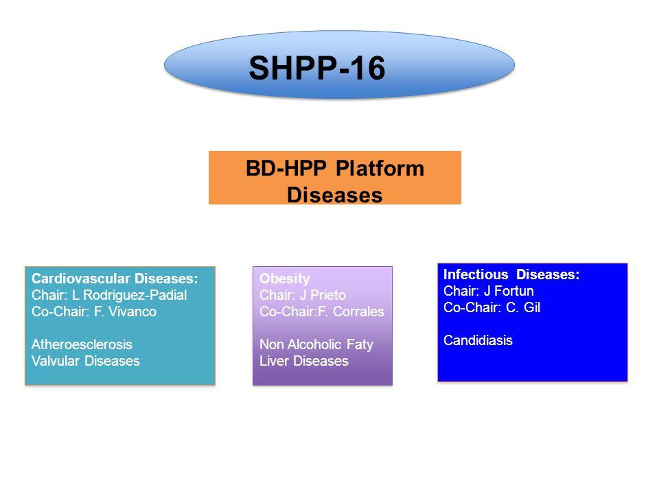 BD-HPP Platform Diseases Obesity Chair: J Prieto Co-Chair:F.