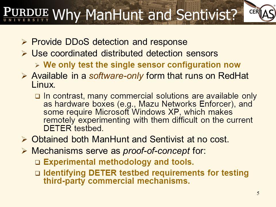 5 Why ManHunt and Sentivist.