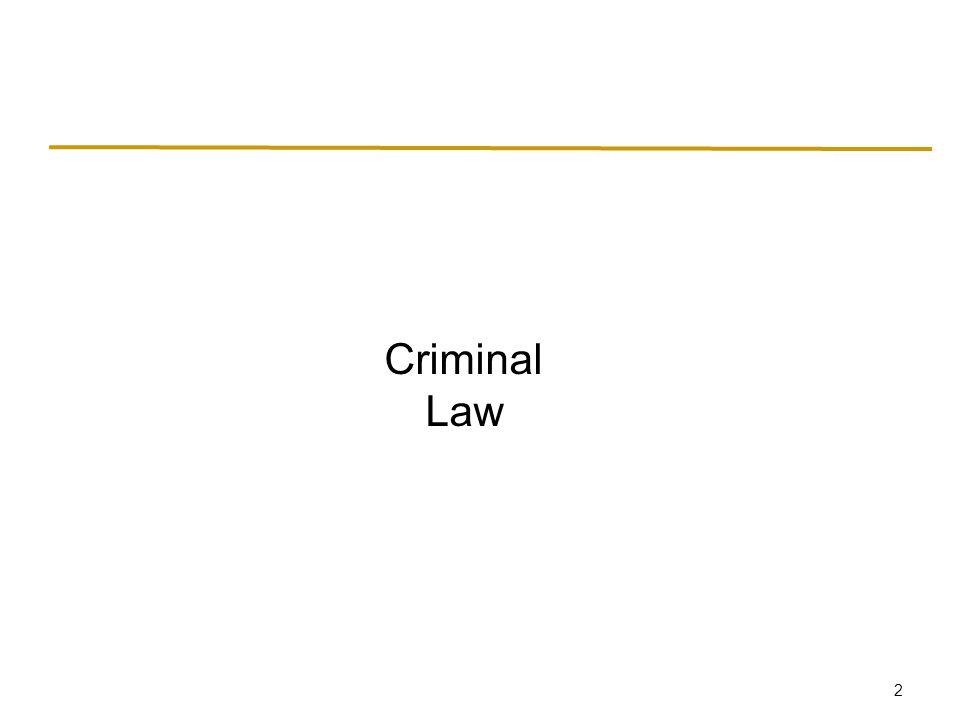 2 Criminal Law