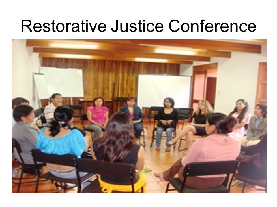 Restorative Justice Conference