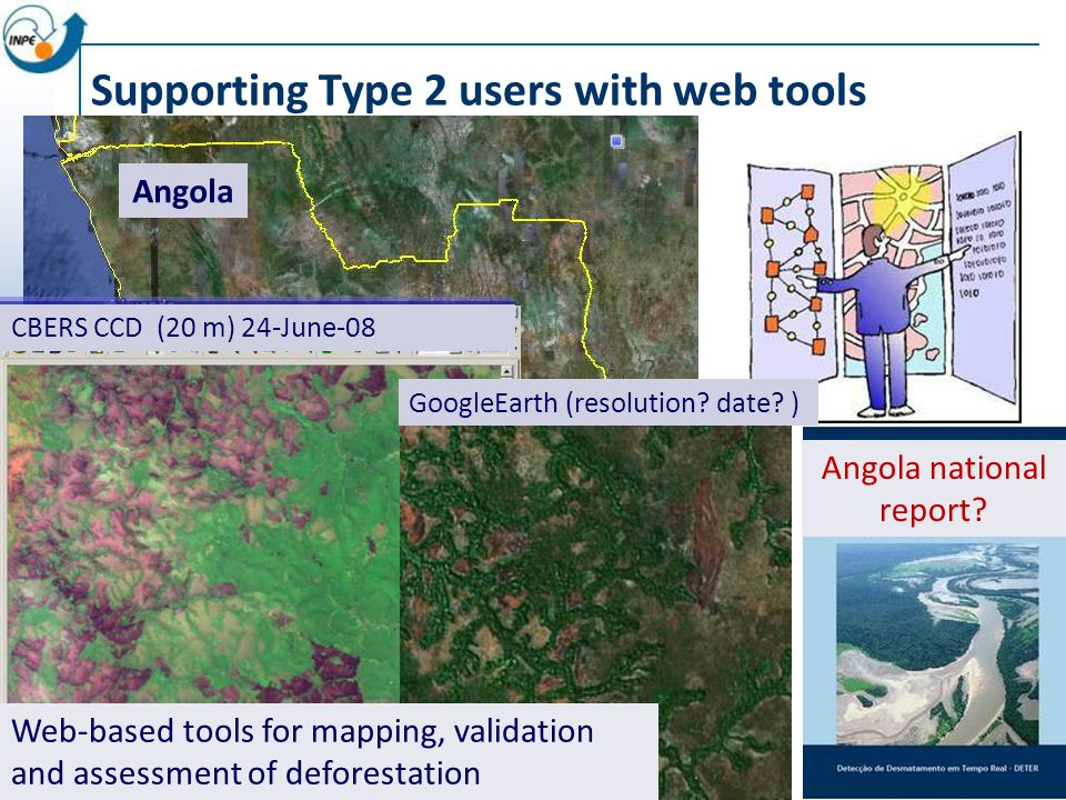 Supporting Type 2 users with web tools Angola national report.