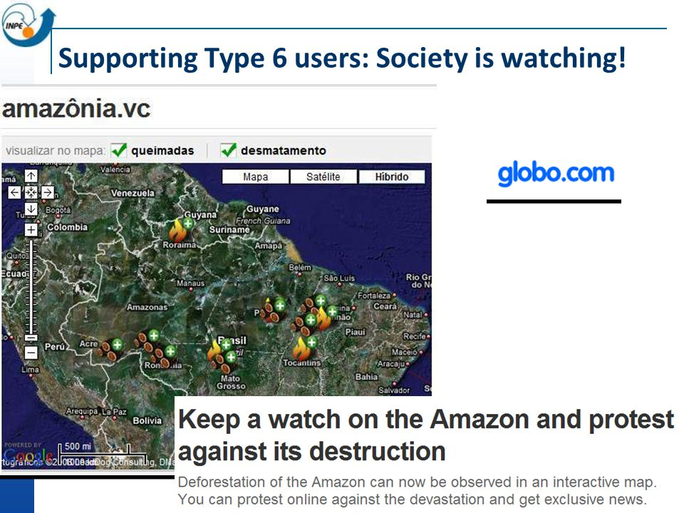 Supporting Type 6 users: Society is watching!