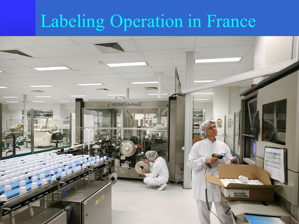 Labeling Operation in France