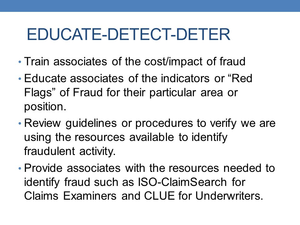 Claims Best Practices SIU Investigation Guides Claims Best Practice Guides developed for use by loss type for our Claims Examiner G:\clm_exam\Property and SIU\Best PracticesG:\clm_exam\Property and SIU\Best Practices SIU Investigation Guide for use by loss type for our Claims Investigators G:\clm_exam\SIU\SIU Manual\Investigative Guidelines