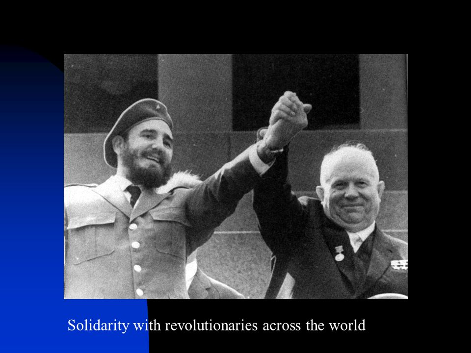 Solidarity with revolutionaries across the world