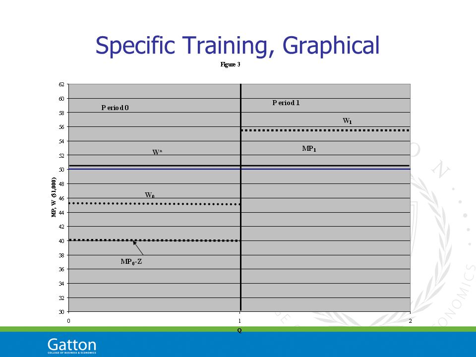 Specific Training, Graphical