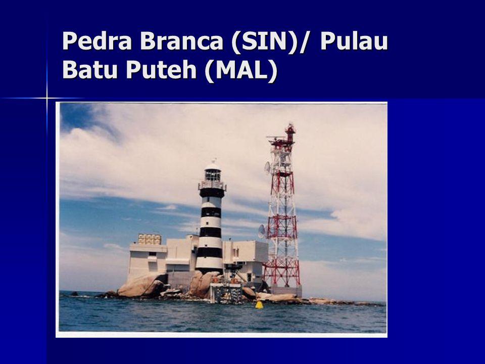 Pedra Branca (SIN)/ Pulau Batu Puteh (MAL)