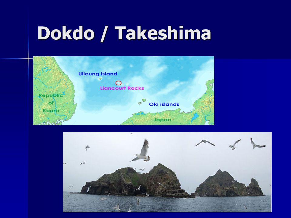 Dokdo / Takeshima