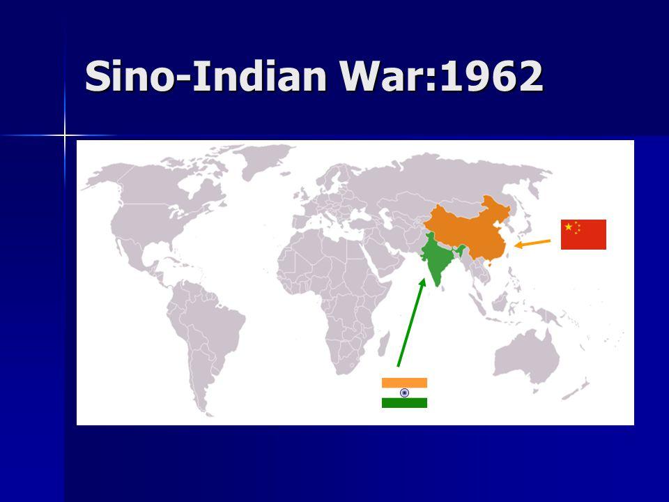 Sino-Indian War:1962