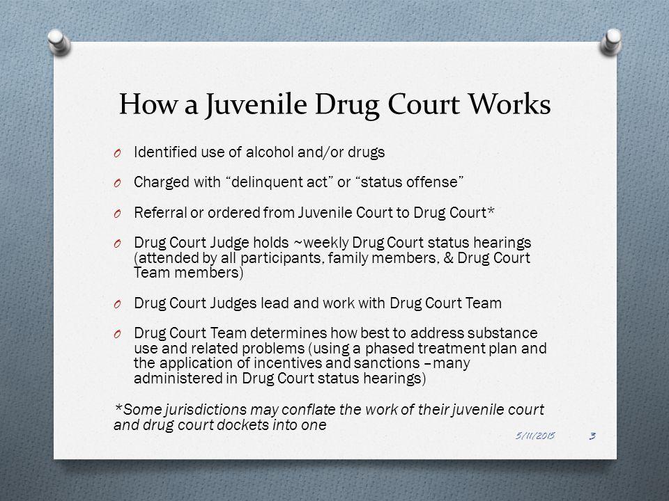 Tribal Juvenile Court Process 5/11/2015 4