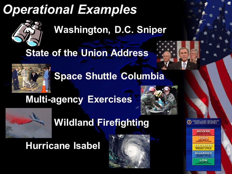 Operational Examples Washington, D.C.