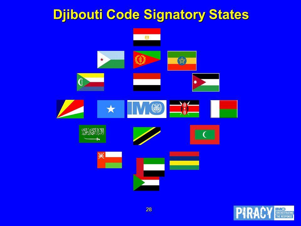 Djibouti Code Signatory States 28
