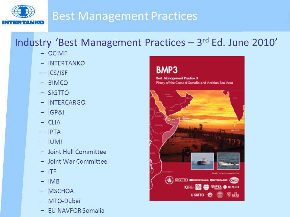 Industry 'Best Management Practices – 3 rd Ed.