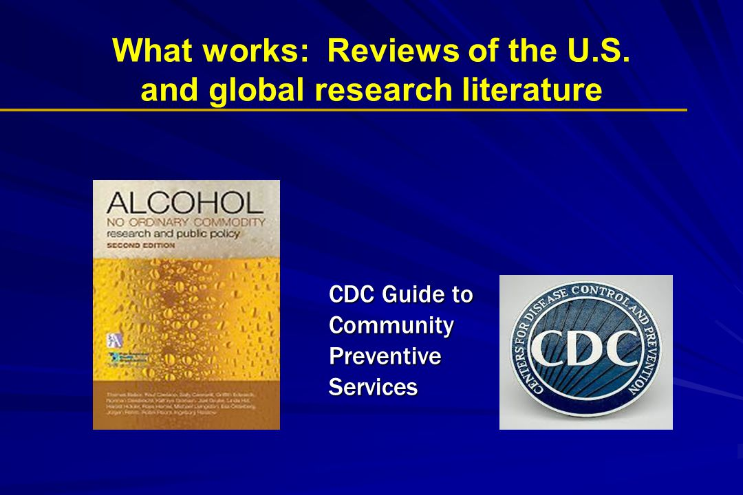 What works: Reviews of the U.S.