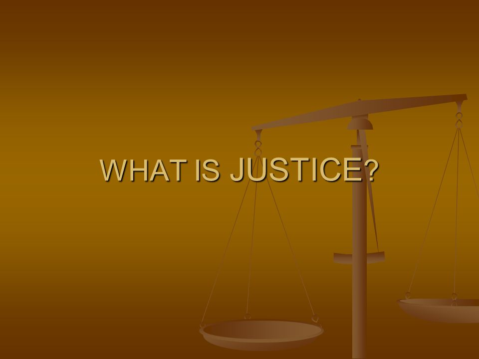 DISTRIBUTIVE JUSTICE Also Known as Social Justice Also Known as Social Justice Provides that each person in a society share the same values, including power, prestige and possessions (PPP) Provides that each person in a society share the same values, including power, prestige and possessions (PPP) Reality: Not all have equal PPP Reality: Not all have equal PPP Merton views crime as a reaction of the poor who are denied equal access Merton views crime as a reaction of the poor who are denied equal access Underprivileged Youth need more Underprivileged Youth need more Focus is on Retribution Eye for an Eye Focus is on Retribution Eye for an Eye Retributive Justice seeks revenge for unlawful behavior Retributive Justice seeks revenge for unlawful behavior
