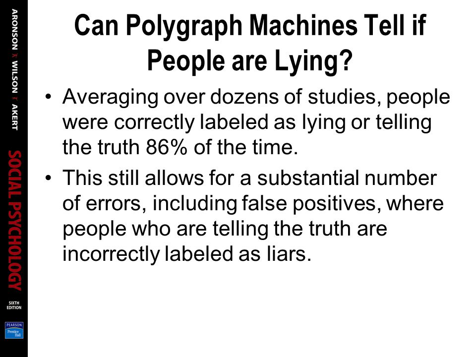 Can Polygraph Machines Tell if People are Lying.