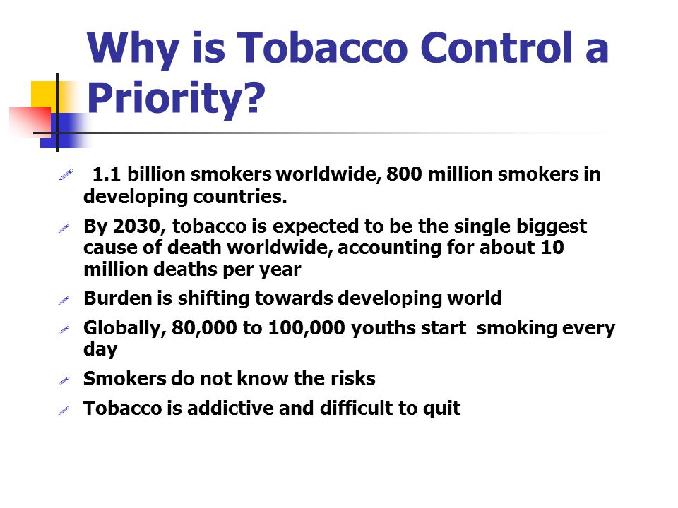 Curbing the Epidemic: Governments and the Economics of Tobacco Control: Global, Regional and Hungarian Evidence By Annette Dixon Sector Director World Bank Tobacco Dissemination Meeting, Budapest, Hungary 2001