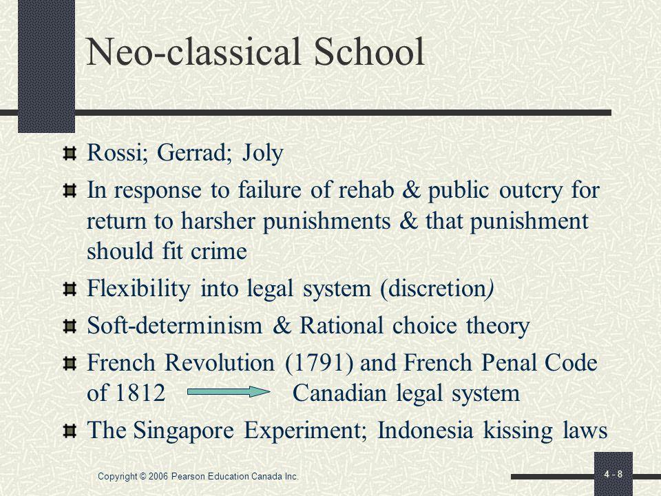 "Copyright © 2006 Pearson Education Canada Inc. 4 - 7 Jeremy Bentham ""felicitous calculus"" - Box 4.2 Fundamental principles still foundation of social"