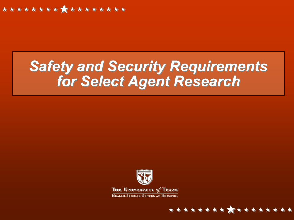 Foreseeable Trends Increasing regulatory requirements, inspections, scrutiny Opportunities for research The FY03 budget for Department of Homeland Security was $37,450,000,000 Increasing regulatory requirements, inspections, scrutiny Opportunities for research The FY03 budget for Department of Homeland Security was $37,450,000,000