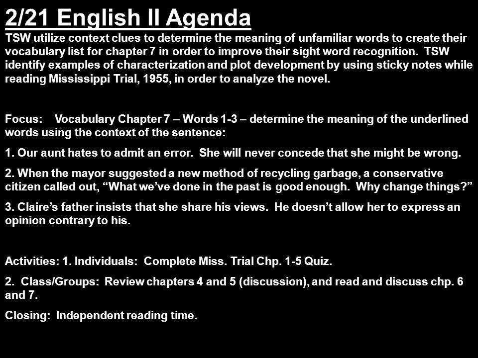 Building Vocabulary Skills Chapter 7