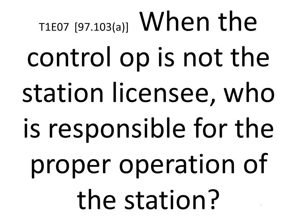 Properly identify the transmitting station done
